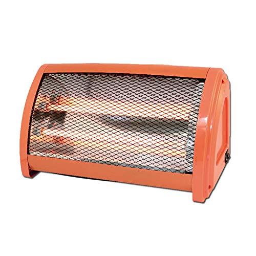Massage-AED Calentador Portátil, Calentador Ventilador 220v Radiador Tubo Cuarzo Calentador Eléctrico Aire Escritorio para El Hogar Calentamiento Rápido Apagado