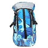 Urban Trek Large Blue Camouflage Bag || Travel Backpack || Outdoor Sport Camp