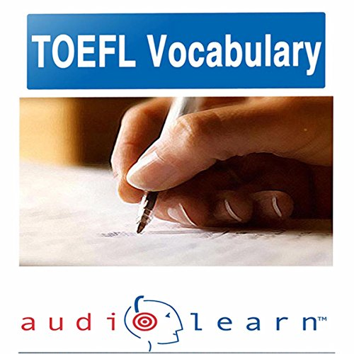 2012 TOEFL Vocabulary AudioLearn  audiobook cover art