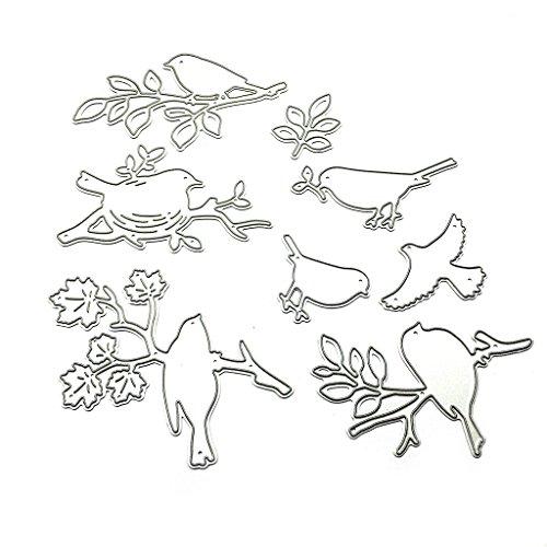 Buybuying Flowers And Birds Metal Steel Cutting Dies Stencils Embossing DIY Scrapbooking