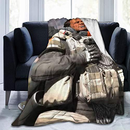 Battle Royale Game Lifeline Humor Respawn Commodity Ap-Ex Legends Sherpa Manta supersuave tamaño de viaje para sofá y cama, color marrón