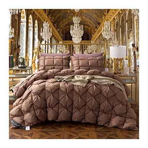 Down Alternative Comforter Queen Comforter comfo Brown Goose/Duck Down Bread Duvet Luxury Winter Warm Quilt 4.9Kg Blanket Comforter Filler King Queen Twin Size (Size : 150x200cm 2700g)