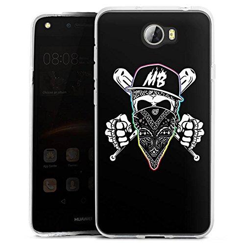 DeinDesign Huawei Y5II 3G Silikon Hülle Case Schutzhülle Montanablack Merchandise Fanartikel Youtuber