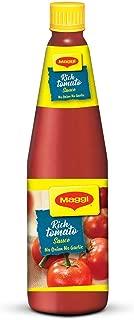 Nestle Maggi Rich Tomato Sauce, ketchup, No Onion No Garlic, 500 grams - 17.6 oz Bottle - Vegetarian