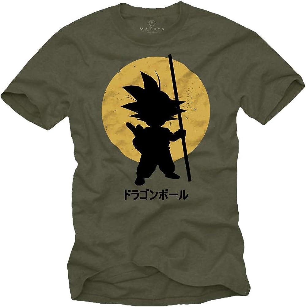 MAKAYA Camiseta Son Goku