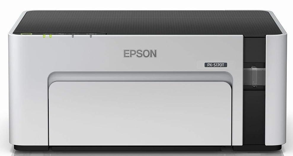 動かない電話をかける再現するエプソン プリンター エコタンク搭載 A4モノクロインクジェット PX-S170T1 ドキュメントパック非同梱モデル 無償保証期間3年