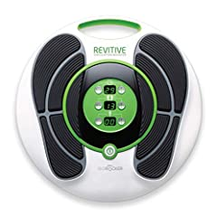 CLINICALLY TESTED PATENTED TECHNOLOGY TO INCREASE CIRCULATION: The REVITIVE Circulation Booster has the original ISOrocker system and 15 variable waveforms, including the patented wide waveform. REVITIVE IX uses patented ELECTRICAL MUSCLE STIMULATION...