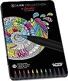Conté Lápices de colores – colores Surtidos, Caja Metálica de 12 unidades