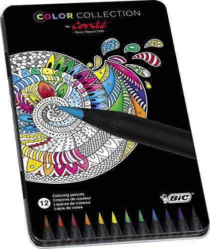 Conté 9421681 Conte 12 Buntstifte, Limited Edition, 12-farbig sortiert