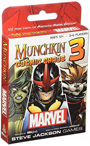 Munchkin Marvel 3. Cosmic Chaos
