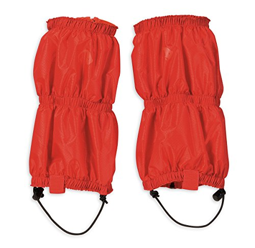 Tatonka Gamaschen Gaiter Ripstop Short Light, red, 29 x 49 cm