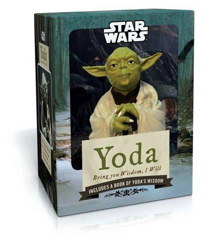 Chronicle Books Star Wars Yoda: Bring You Wisdom, I Will.: (Star Wars Figurine, Wisdom Cards, Inspirational Booklet)