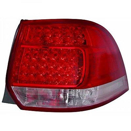 in. pro. 2214695 arrière Lampes, rouge/blanc/transparent