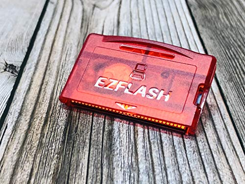 RGRS NEW EZ Flash Omega Ruby Red Version Shell Micro SD Game Card for NDS NDSL IDSL GBA GBASP EZFLASH