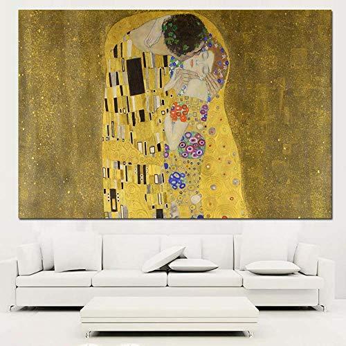 5D diamant schilderij kit kruissteek 40x50cm beste Gustav Klimt kus muur s voor huisdecoratie idee olie