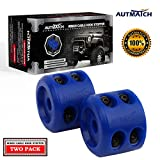 AUTMATCH Winch Cable Hook Stopper (2 Pack) Silicone Rubber Shock Absorbent Winch Stopper B...