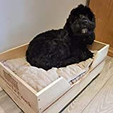 12 Bottle Size Wine box Pet Bed for Small dogs and Cats by WineBoxesEtc