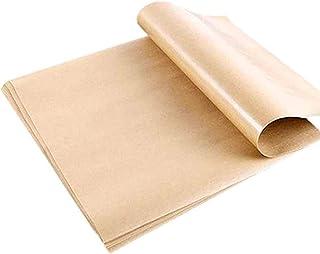 Vvciic Carta da Forno Carta da Forno Resistente Allacqua Carta Pergamena Antiolio per Barbecue E da Forno 100 Pezzi Rotoli di Carta Oleata