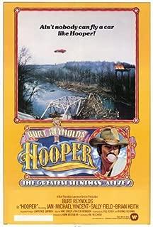 Hooper Poster 27x40 Burt Reynolds Jan-Michael Vincent Robert Klein