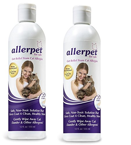 Allerpet 2-Pack for Cats, 12 Ounces