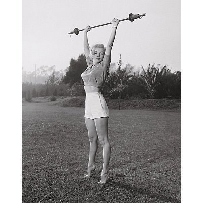 (22x28) Marilyn Monroe Workin' It Movie Poster Print