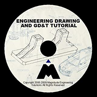 ENGINEERING DRAWING GD&T TUTORIAL 6+HRS TRAINING DESIGN GDT TUTORIAL DVD