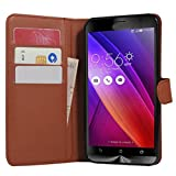 Zenfone 2 Case, Fettion Premium PU Leather Wallet Flip