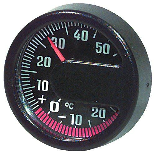 """Preisvergleich Produktbild hr-imotion 10110001 Thermometer """"Modern"""" für Auto,  Heim,  Camping,  uvm. [ In- & Outdoor geeignet / selbstklebend / Made in Germany - 20° C - +50° C]"""