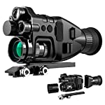 HENBAKER Digital Night Vision Device 1-32X Night Vision Monocular, 2 Infrared Light Night Vision Goggles, CY800 Supports Day&Night Hunting/Outdoor Entertainment