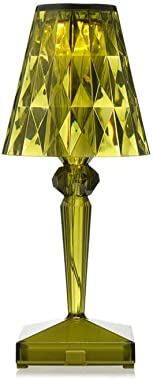 Kartell Battery Portable and Rechargeable Transparent Green Table lamp