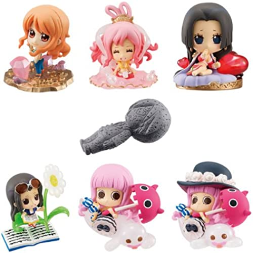 One Piece Sanji's Paradise Petit Chara Land PVC Mini Figurs (1 Random Blind Box)