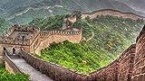 Awttmua Puzzles De Madera para Adultos 1500 Piezas De Pinturas Decorativas del Paisaje De La Gran Muralla De China