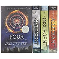 Divergent Series Four-Book Paperback Box Set: Divergent, Insurgent, Allegiant, Four