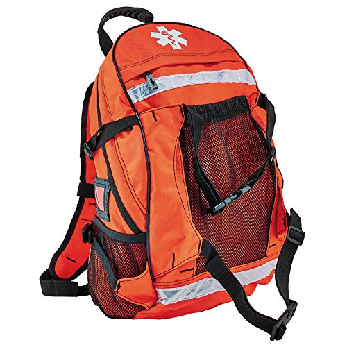 Ergodyne Arsenal 5243 Medic First Responder Trauma Backpack Jump Bag, Orange