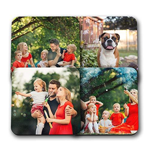 4 Picture Photo Set Coasters