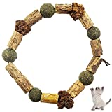 N\W Silvervine Cat Toy,cat chew Toy,Natural Catnip Chew Sticks,Cleaning Teeth Molar Tools,Make Your Cat Feel Relaxed,Toys for Indoor Cats,Suitable for Kittens and Adult Cat