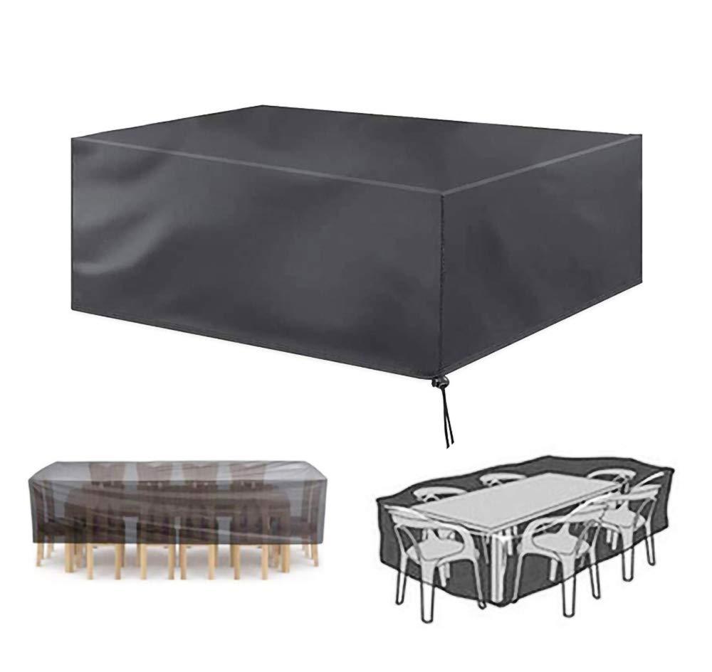 Garden Patio Furniture Cover Seat Waterproof Patio Rattan Cube Table