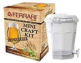 FERRARI Kit de Regalo de la Cerveza de fermentación de tonelería 13,5 litros de artesanía biy sin Regalo tecnología de elaboración de la Cerveza de Malta ofrecido