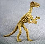 Collectible Wildlife Gifts Iguanodon Dinosaur Bones one-Piece Skeleton Replica 4 1/4 inches Tall - F3288 B61