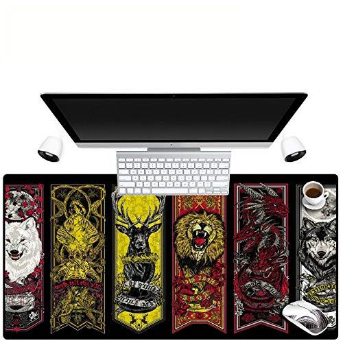 HONGHUAHUI Print Dierlijke Afbeeldingen Toetsenbord Muis Pad Notebook Antislip Gaming Muis Mat 300X700X2MM A03