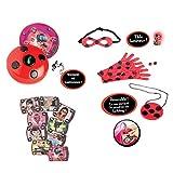 Bandai - Miraculous Ladybug - Multipack deviens Marinette et Ladybug avec Téléphone magique en français - déguisement - role play - 84950