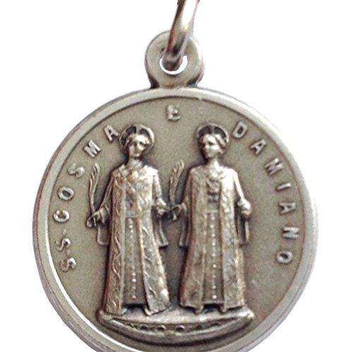 Igj Medaille der Heiligen Cosmas und Damian - Saints Gönner der Ärzte Chirurgen, Apotheker und Zahnärzte