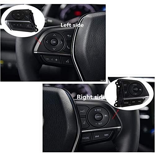 Para la versión de EE. UU. De Corolla 2019 Hybrid 2019 Botón de sonido de volumen de volumen interruptor del coche