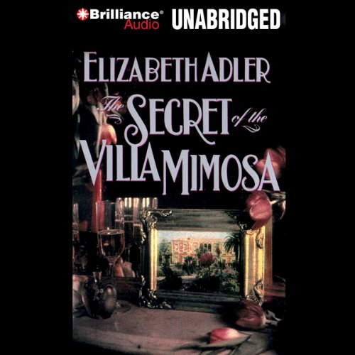 The Secret of the Villa Mimosa audiobook cover art
