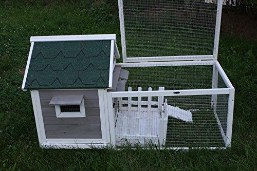 Elmato 11019 Hühnerstall mit Freilaufgehege bzw. mit Auslauf 150 cm - 2