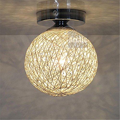 BRIGHTLLT Personalidad creativa aseo balcón LED Luz Lámpara de techo pequeñas luces...