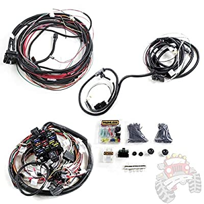 painless wiring jeep cj7 !~ painless performance wiring pre terminated wire harness ... painless wiring jeep