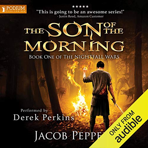 The Son of the Morning audiobook cover art