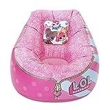 little tikes 651724E5C Aufblasbarer Stuhl für Kinder im L.O.L. Surprise! Design mit beflockter...
