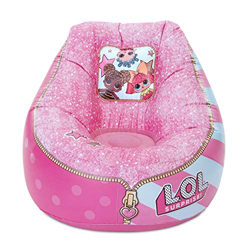 L.O.L. Surprise! Pink Inflatable Chair for Kids – Easy to Inflate